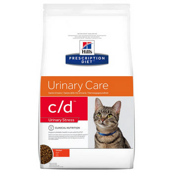 PRESCRIPTION DIET C/D FELINE URINARY STRESS 4KG