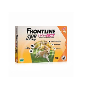 FRONTLINE TRI-ACT CANE 5/10Kg 6 PIPETTE