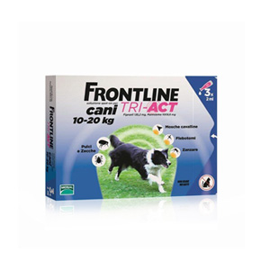 FRONTLINE TRI-ACT CANE 10/20Kg 6 PIPETTE