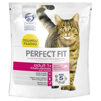 PERFECT FIT CAT ADULT SALMONE 400g