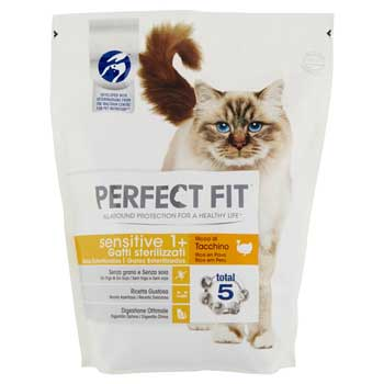 PERFECT FIT CAT SENSITIVE TACCHINO 400g
