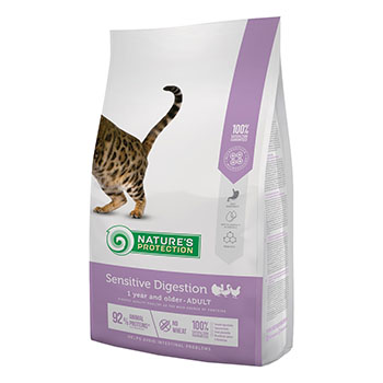 NATURE'S PROTECTION CAT SENSITIVE DIGESTION 2KG FOOD