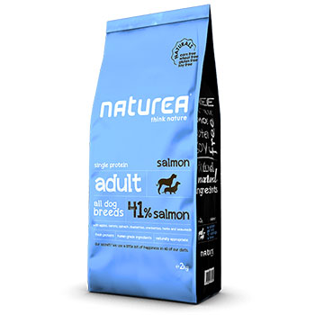 NATUREA NATURALS DOG ADULT SALMONE 12Kg