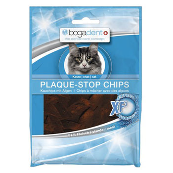 BOGADENT CAT PLAQUE STOP CHIPS POLLO 50g