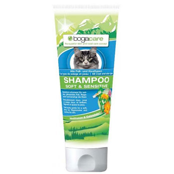 BOGACARE CAT SHAMPOO SOFT/SENSITIVE 200ml