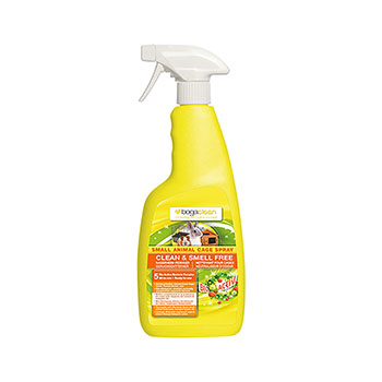 BOGACLEAN CLEAN & SMELL FREE SMALL ANIMAL CAGE SPRAY 500 ml