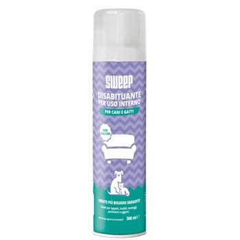 SWEEP DISABITUANTE CANI E GATTI DA INTERNO SPRAY 300ml