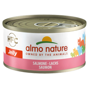 ALMO CAT JELLY SALMONE 70g