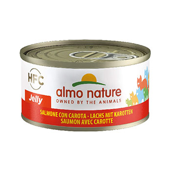 ALMO CAT JELLY SALMONE/CAROTA 70g