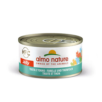 ALMO CAT JELLY TROTA/TONNO 70g