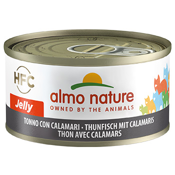 ALMO CAT JELLY TONNO/CALAMARI 70g