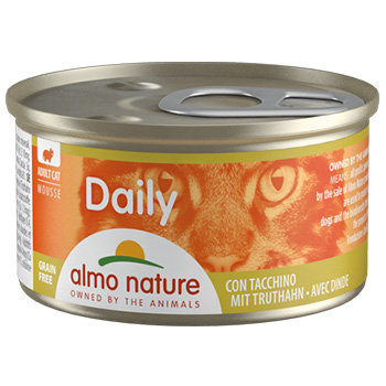 ALMO DAILY CATS 85g TACCHINO
