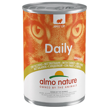 ALMO DAILY CATS 400gr TACCHINO