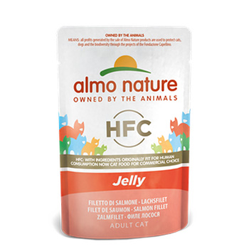 ALMO CAT CLASSIC JELLY SALMONE 55g