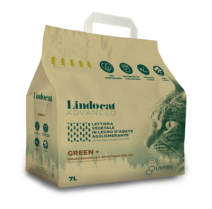 LINDO CAT ADVANCED AGGLOMERANTE VEGETAL GREEN+ 7lt
