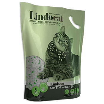 LINDO CAT CRYSTAL ALOE 5lt