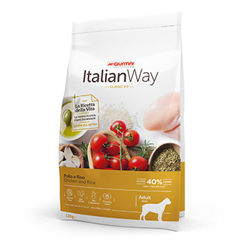 ITALIAN WAY DOG ADULT MAXI POLLO/RISO 12Kg OFF