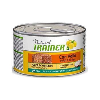 TRAINER NATURAL DOG SMALL & TOY MATURITY POLLO 150g
