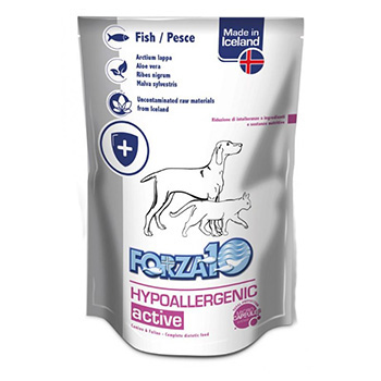 FORZA 10 CAT/DOG HYPOALLERGENIC PESCE BUSTA 100g