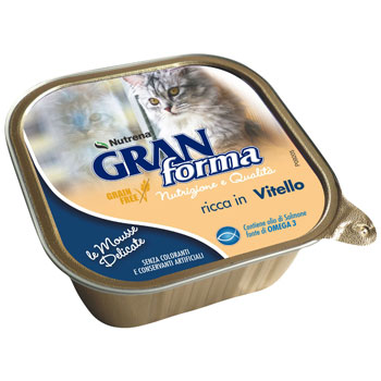GRAN FORMA CAT MOUSSE VITELLO 100g