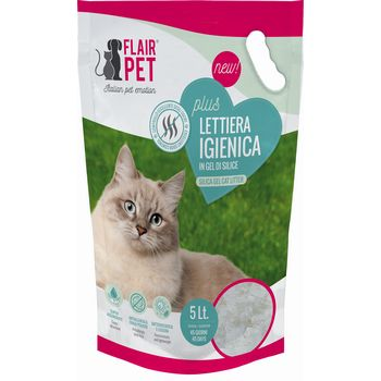 FLAIR PET LETTIERA SILICIO 5lt