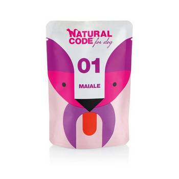 NATURAL CODE DOG MAIALE BUSTA 100gr
