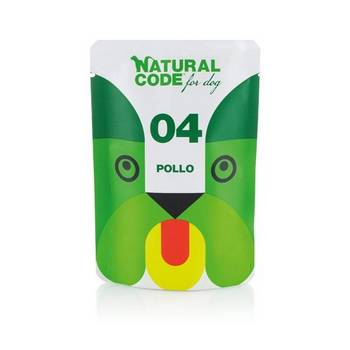 NATURAL CODE DOG POLLO BUSTA 100gr