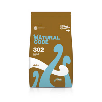 NATURAL CODE CAT ADULT CON MAIALE 1,5 kg