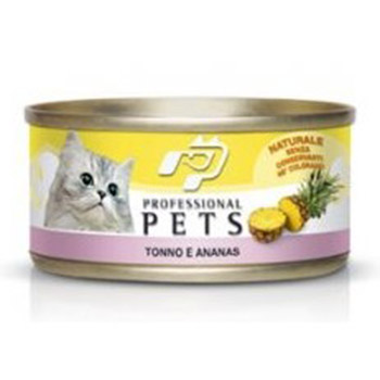 PROFESSIONAL PETS CAT NATURALE TONNO E ANANAS 70g
