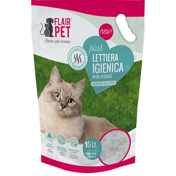 FLAIR PET LETTIERA SILICIO 15lt