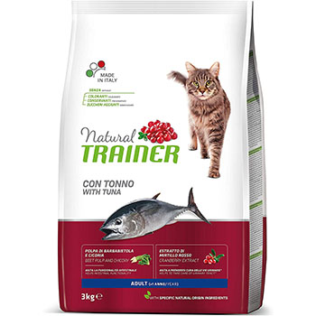 TRAINER NAT CAT ADULT TONNO KG.1,5