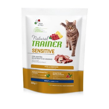 TRAINER NAT CAT SENSITIVE ANATRA 300GR