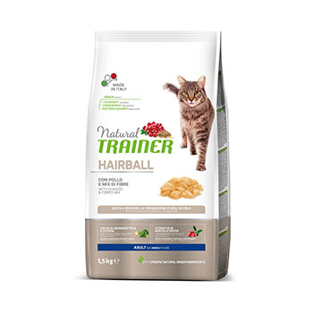 TRAINER NAT CAT HAIRB.POLLO KG.1,5 FL