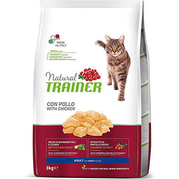 TRAINER NAT CAT AD.POLLO KG.3 FL