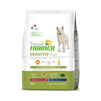 TRAINER NATURAL SENSITIVE ADULT M/M RABBIT 3KG FL