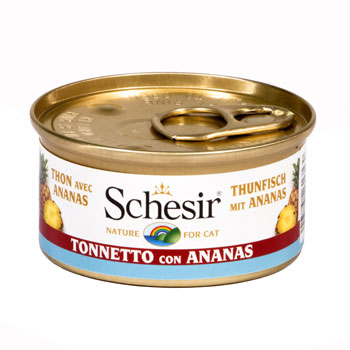 SCHESIR CAT FRUIT TONNO/ANANAS 75g