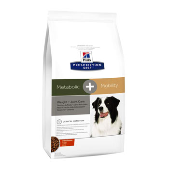 PRESCRIPTION DIET CANINE METABOLIC + MOBILITY 12Kg