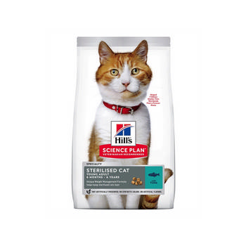 SCIENCE PLAN HILL'S CAT STERILISED YOUNG TONNO 1,5Kg