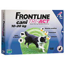 FRONTLINE TRI-ACT CANE 10-20Kg 3 PIPETTE
